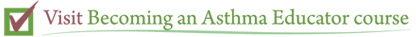 Visit Becoming an Asthma Educator course